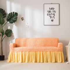 2019新款-爆米花沙发套9色 70-120cm(S码) 橙色爆米花