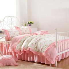 梦丽斯天扬    新款全棉13070韩式床裙系列(小清新风格拍法) 200*110cm床头罩 温情佳人