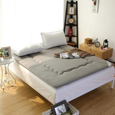 仿棉榻榻米床垫 100*200cm 灰色