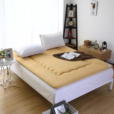 仿棉榻榻米床垫 100*200cm 驼色