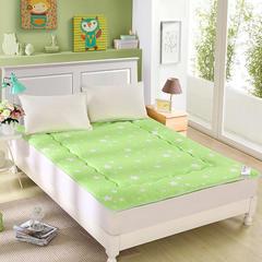 星空磨毛榻榻米床垫 90*200cm 星空绿