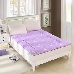 星空磨毛榻榻米床垫 90*200cm 星空紫