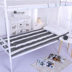 仿棉榻榻米床垫 90*200cm 黑白条