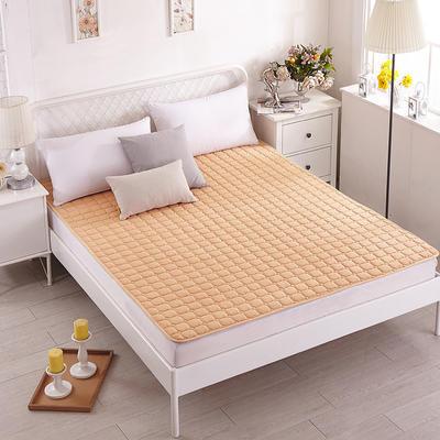 磨毛水洗床护垫 1.2m(4英尺)床 驼色