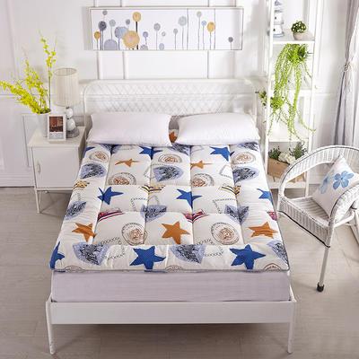 印花纤维软床垫 90*200cm 花枝蝶影