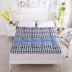印花纤维软床垫 90*200cm 格蓝
