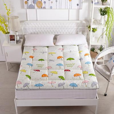 印花纤维软床垫 90*200cm 云水谣