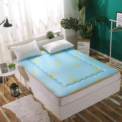 3D透气印花床垫 90*200cm 皇冠