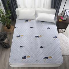 可水洗纳米印花床护垫 90*200cm 爱达荷