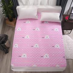 可水洗纳米印花床护垫 120*200cm 你好小熊