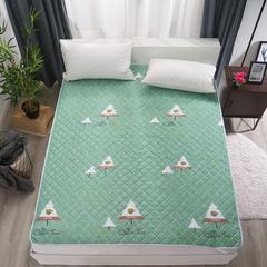 可水洗纳米印花床护垫 150*200cm 森林童话