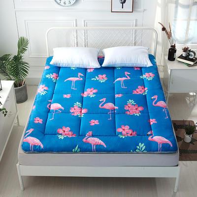 印花纤维软床垫 90*200cm 火烈鸟