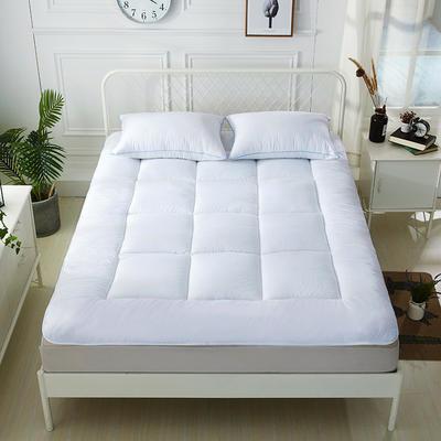 印花纤维软床垫 90*200cm 白格子