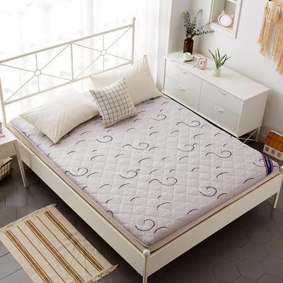 磨毛床垫 加厚款 有宿舍懒人图 90*200cm 幻彩天空
