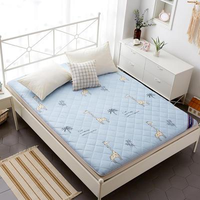 磨毛床垫 加厚款 有宿舍懒人图 100*200cm 长颈鹿