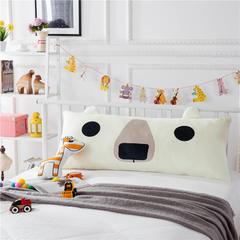 伊涞温 儿童床床头靠垫 靠背靠枕枕头宝宝绒秋冬可爱造型 60x120cm 北极熊