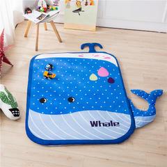 伊涞温ELEVEN 可拆洗造型冬季宝宝绒地垫 儿童爬爬垫 130*160(不含耳朵) 鲸鱼