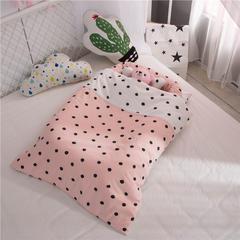 60贡缎全棉便捷式婴儿床可拆洗 带被子儿童床中床 其它 波点