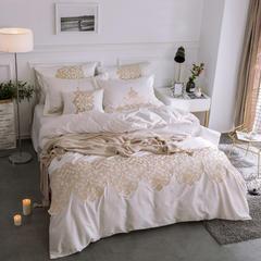 60S长绒棉多件套 米兰达-钻石白 标准(1.5m-1.8m床) 米兰达-钻石白