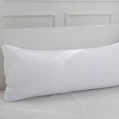 红福鸟家纺羽丝绒枕芯(长枕芯  1只) 白色(120*45cm)