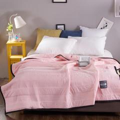 寝香居 素色水洗棉夏被 200X230cm 白色
