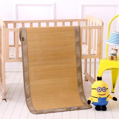 2020新款儿童款单竹凉席 60cm*120cm单凉席 竹纤维席