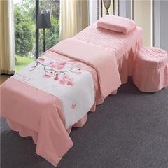 新款美容床罩四件套(十里桃花)