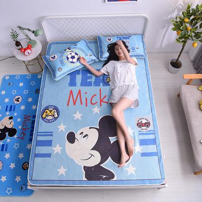 2020新款正版迪士尼冰丝席 90*195cm(适合0.9m床) 米奇梦想