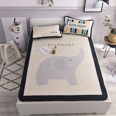 2019新款北欧风凉席 系列 120*195cm(1.2m床) 大象