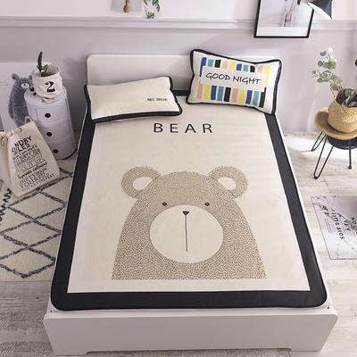 2019新款北欧风凉席 系列 120*195cm(1.2m床) 小熊