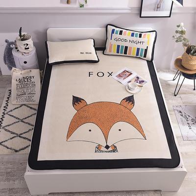 2020新款北欧风凉席 系列 120*195cm(1.2m床) 狐狸