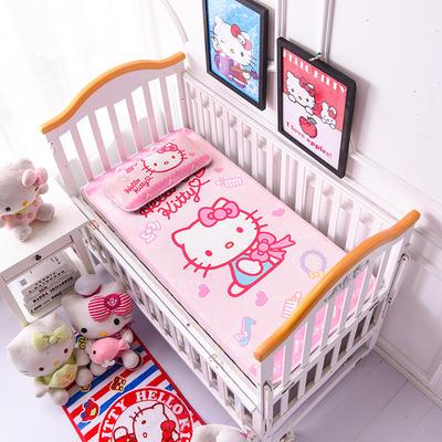 2021新款Hello Kitty冰丝软席童席两件套 60x120cm凉席两件套 美妆公主