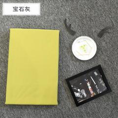 kisslife   2018新品60S贡缎素色单品床笠 1.5m 艾草绿 (2)