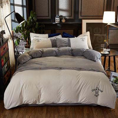 纽约款丽丝绒(纽约款丽丝绒) 1.8m(6英尺)床 灰色
