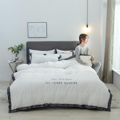 2019新款唯爱水晶绒四件套-棚拍图 1.2m床单款三件套 唯爱-奶白
