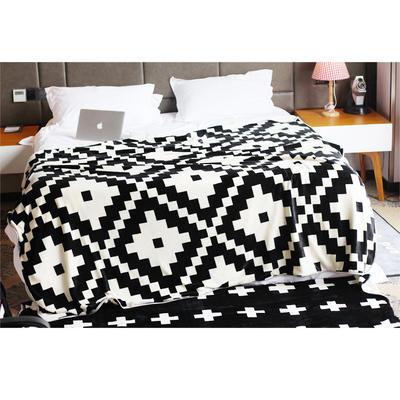 毯子系列 绒毯 150*200cm 菱格