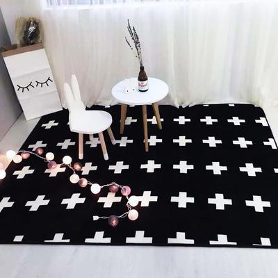 毯子系列 绒毯 150*200cm 十字(地毯 毛毯)