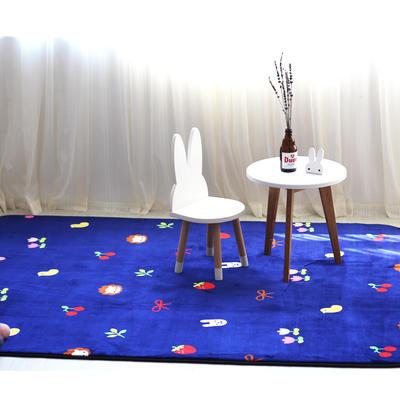 毯子系列 绒毯 150*200cm 小樱桃(地毯 毛毯)