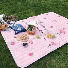 2018新款野餐垫 170*200 草莓火鸟