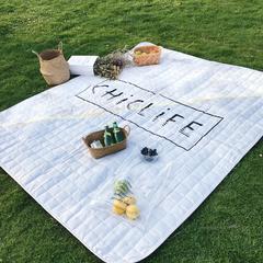 2018新款野餐垫 170*200 大理石纹灰