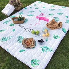 2018新款野餐垫 140*200 叶子鸟