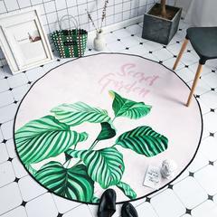 2018新款-chic6月份圆形地毯 145*145 秘密花园