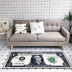 2018新款-Chic新款长条地毯 70*150 发财