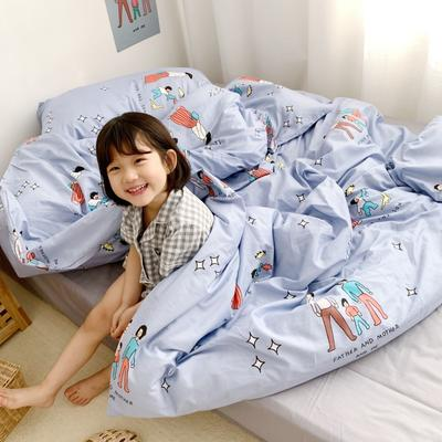 2019新款全棉四件套-小模特图 1.2m三件套 童年的梦