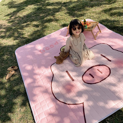 2019新款野餐垫 140×200cm 粉猪
