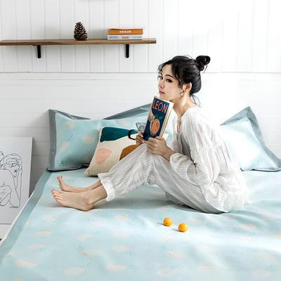 2019新款太极石养生席-影棚图 150*198cm 小菠萝