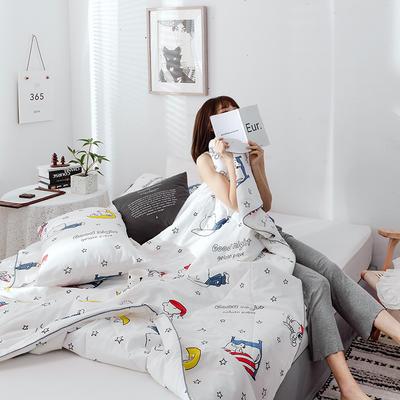 2019新款纯棉夏被-影棚图 单枕套/只 晚安