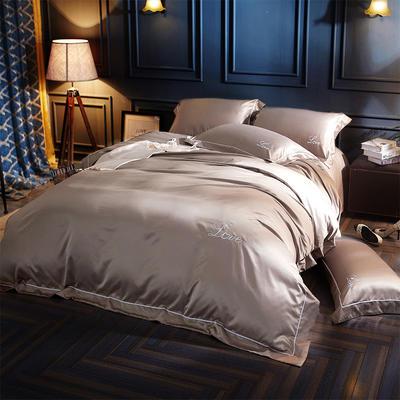水洗真丝四件套 1.5m-1.8床(床单款) 布尔
