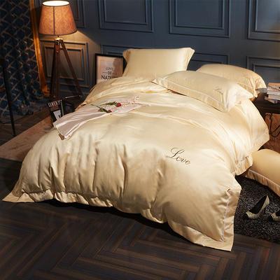 水洗真丝四件套 1.5m-1.8床(床单款) 莱加