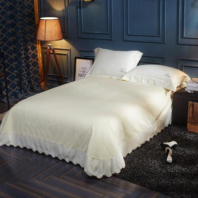 水洗真丝单品床单 250*250月牙边床单 半夏